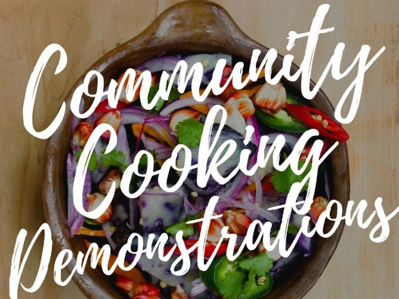 Community Cooking Opportunity to Share Your Talent