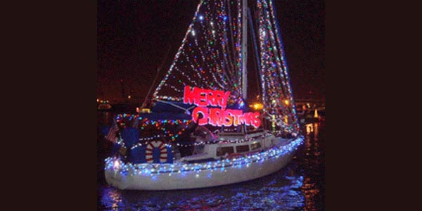 Saturday, December 1 6-9 p.m. Various locations along the Port of Los Angeles Los Angeles Main Channel; pre-parade festivities at Banning's Landing Community Center, at 4 p.m. . The Los Angeles Harbor Holiday Afloat Parade starts in the East Basin near Banning's Landing Community Center in Wilmington
