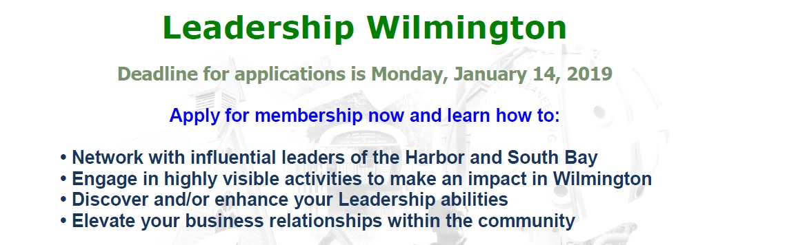 Application due for Leadership Wilmington